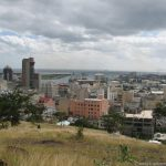 Blick vom Fort Adelaide auf Port Louis