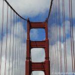 mit dem Auto über die Golden Gate Bridge