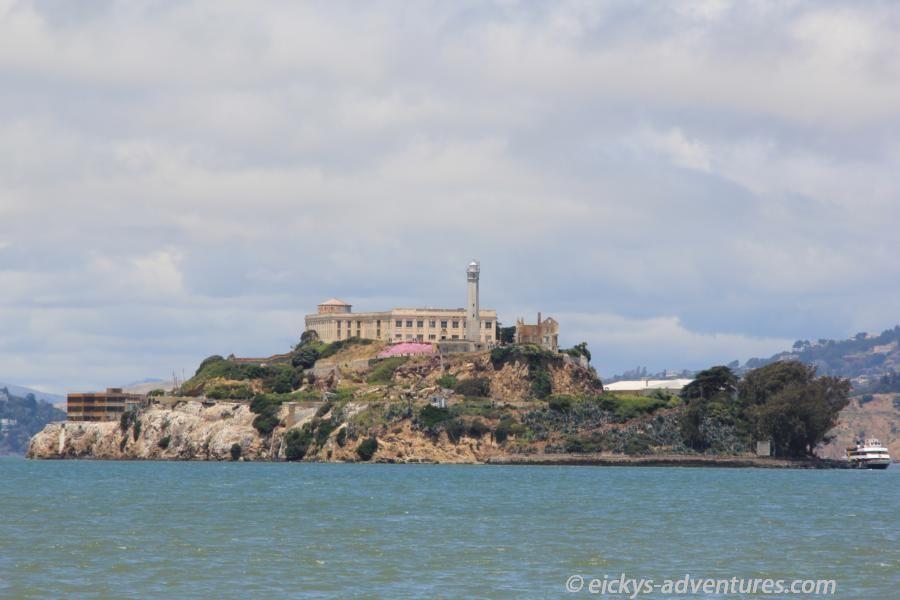 Fahrt weg von Alcatraz