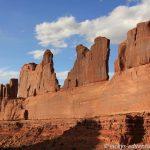Arches Nationalpark Park Avenue
