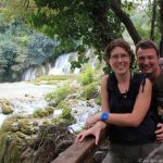 Frank und Sandra im Krka National Park