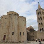 Sv. Donat (9. Jhd.) und der Glockenturm der Kathedrale Sv. Stosija