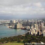 Blick auf Waikiki vom Diamond Head