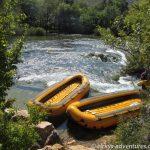 Rafting auf dem Zrmanja River