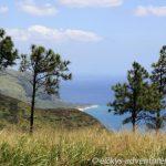 Blick auf die Küste von der Satellite Tracking Station Access Road