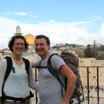 Sandra und Frank in Israel