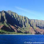 Schifffahrt entlang der Na Pali Coast