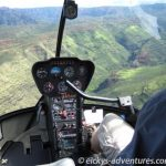 Heli-Flug in den Waimea Canyon