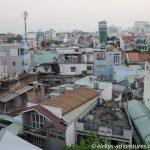 Saigon, Blick vom Balkon