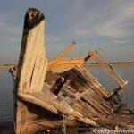altes Fischerboot - hiermit fängt keiner mehr Fische