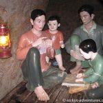 Tunnel von Vinh Moc, Schlafraum einer Familie