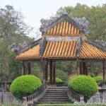 in der kaiserlichen Zitadelle in Hue