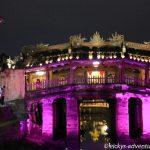 japanische Brücke in Hoi An Old Town