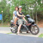 Frank und Sandra in Vietnam