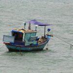 Fischerboot nördlich von Nha Trang