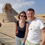 Sandra und Frank in Ägypten