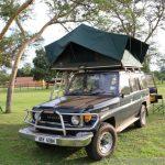 unser Toyota von Roadtrip Uganda