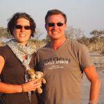 Sonnenuntergang im Chobe
