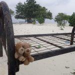 Fotosession mit Heini und Alex auf der Picknickinsel Anbaraa