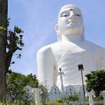 weißer Buddha Bahira Wakanda Tempel