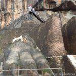 Löwentatzen des Sigiriya Felsens