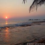 Sonnenuntergang in Hikkdaduwa