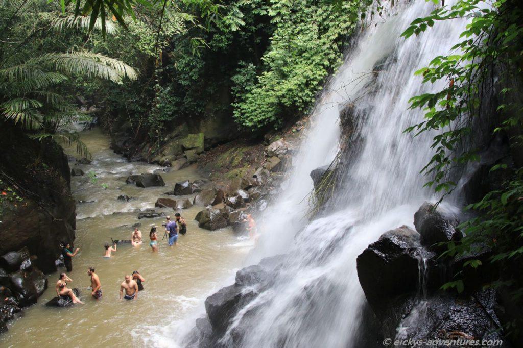 Wasserfall Kanto Lampo