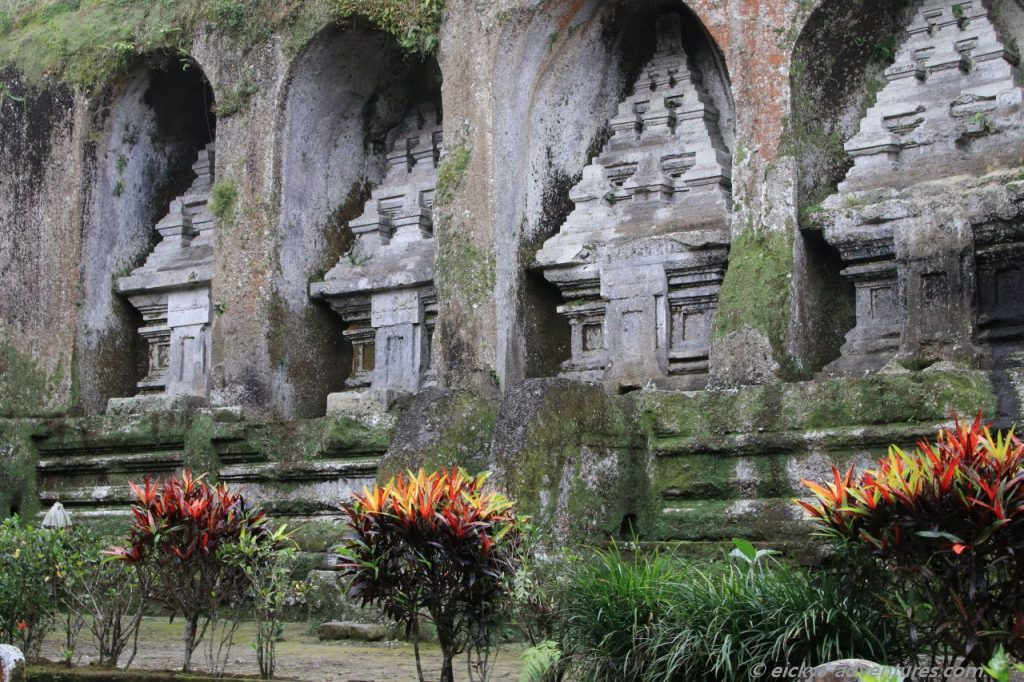 die Königsgräber von Gunung Kawi