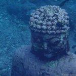 Unterwasserwelt beim Unterwasser-Buddah, Nusa Penida