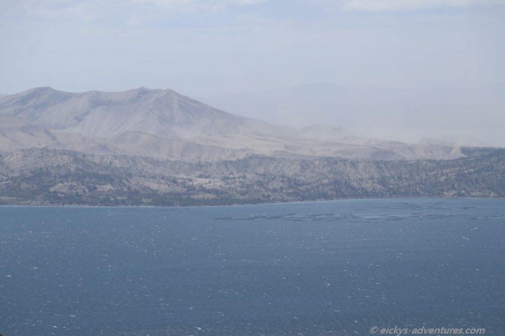 Ausblick auf den Taal Vulkan