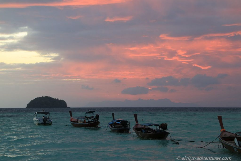 Sunrise Beach auf Koh Lipe