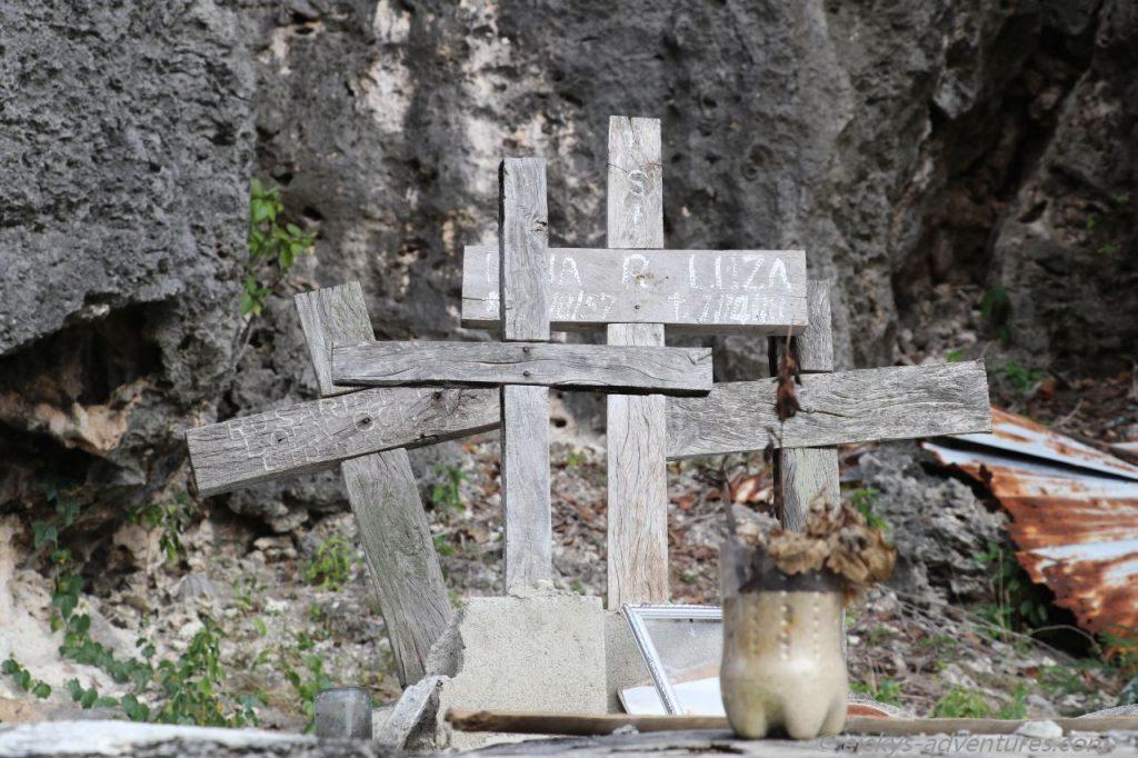 Impressionen Pamilacan - der Friedhof