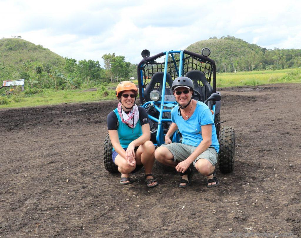 Tour mit dem Buggy bei den Chocolate Hills