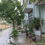Straße in Ninh Binh vorm Kim Lien Guesthouse