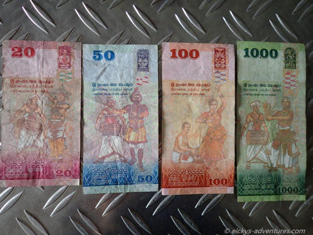 Sri Lanka Rupie